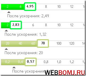 скорость загрузки сайта webo in